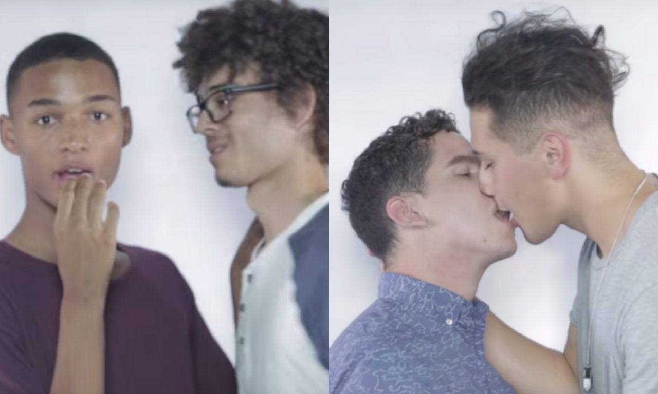 Gay Kiss Vangardist