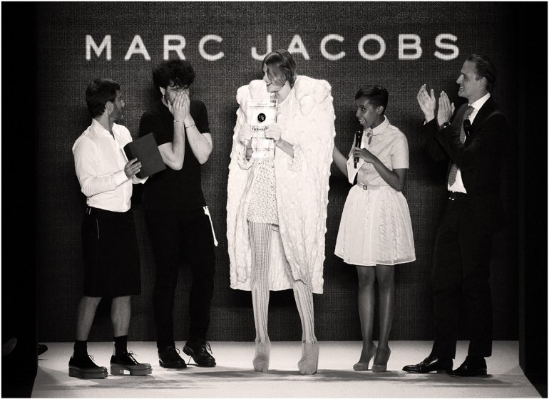 DfT_2012_Leandro Cano mit Patron Marc Jacobs_