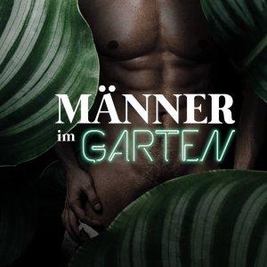 Männer im Garten