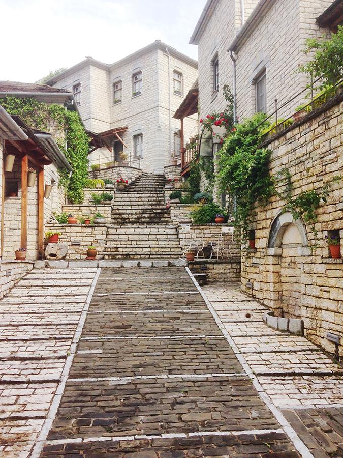 Dorf Aristi