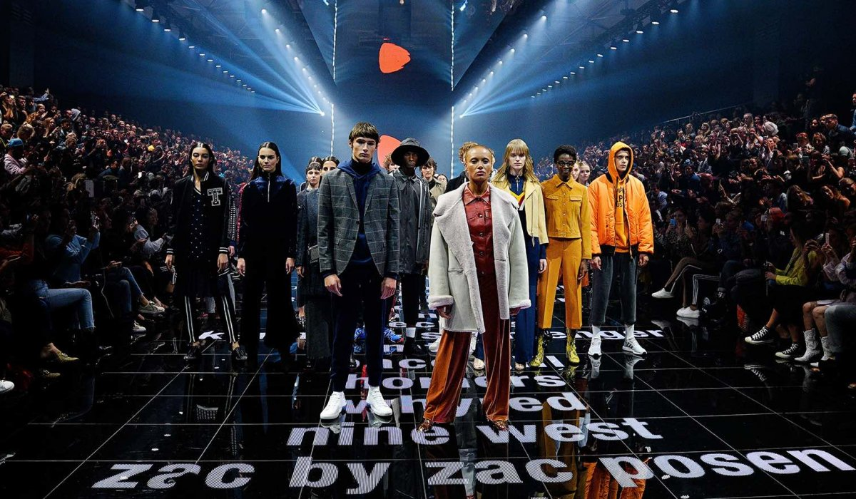 BERLIN, GERMANY - SEPTEMBER 01:  Models walk the runway at the Zalando A/W 17 women show during the Bread & Butter by Zalando at B&&B Stage, arena Berlin on September 1, 2017 in Berlin, Germany.  (Photo by Stefan Knauer/Getty Images for Zalando)