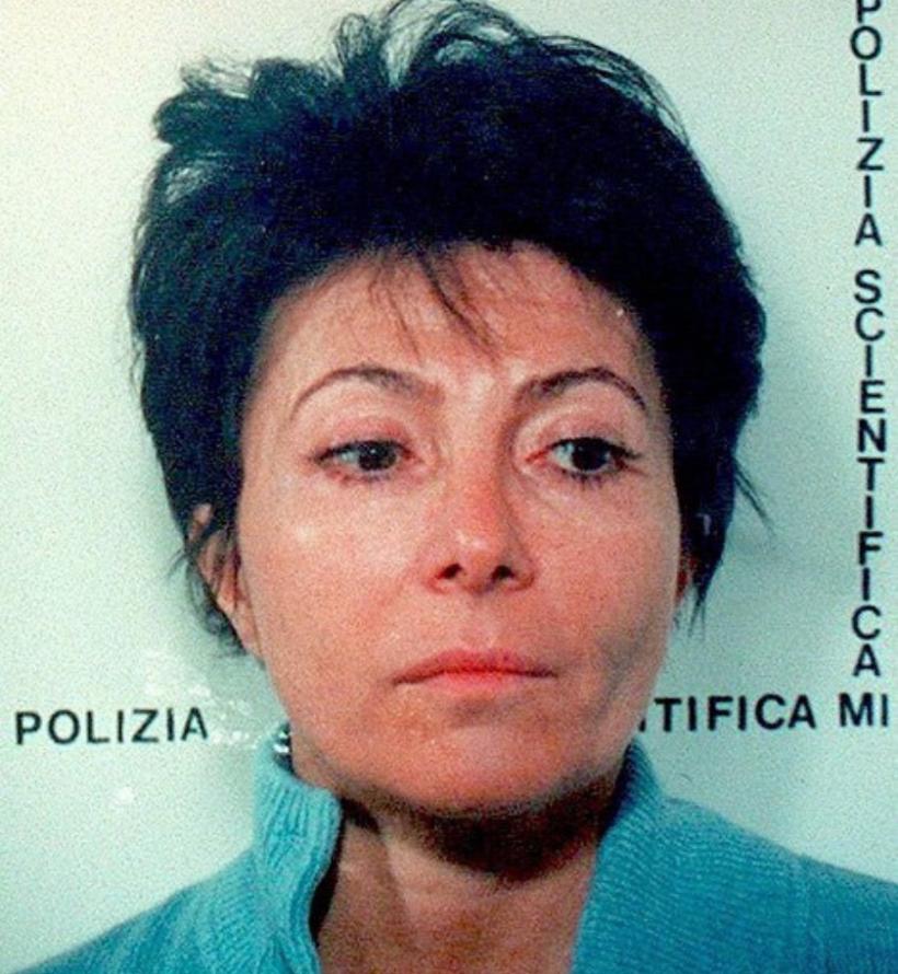 Offizielles Polizeifoto von Patrizia Reggiani, Polizei Mailand